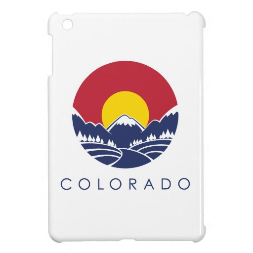 Colorado Rocky Mountain State Flag iPad Mini Case