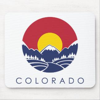 Colorado Rocky Mountain State Flag Mouse Pad