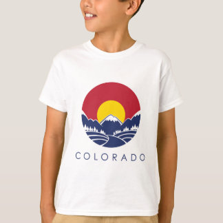 Colorado Rocky Mountain State Flag T-Shirt