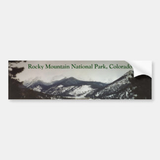 Colorado Rocky Mountains bumper sticker