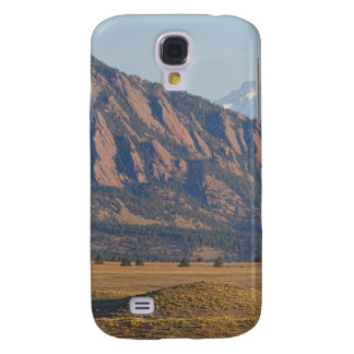 Colorado Rocky Mountains Flatirons With Snow Cove Samsung Galaxy S4 Cover