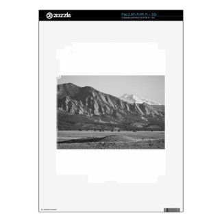 Colorado Rocky Mountains Flatirons with Snow Cover Skins For The iPad 2