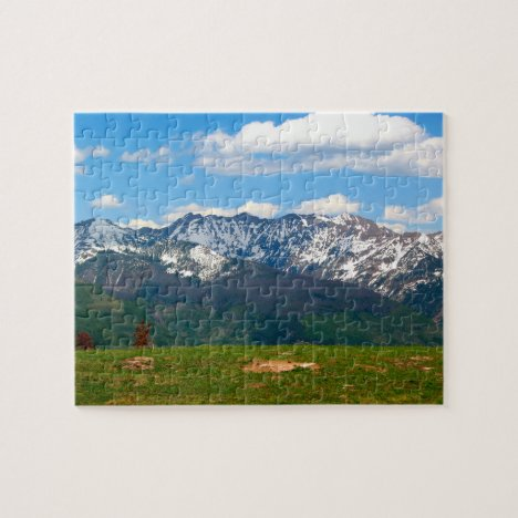 Colorado Rocky Mountains Jigsaw Puzzle