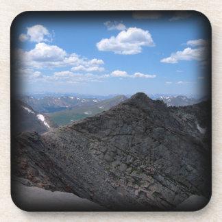 Colorado Rocky Mountains Moonscape Beverage Coasters