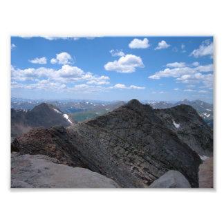 Colorado Rocky Mountains Moonscape Photo Print