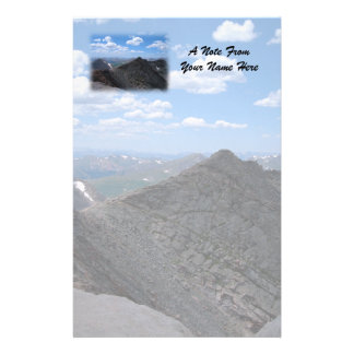 Colorado Rocky Mountains Moonscape Stationery