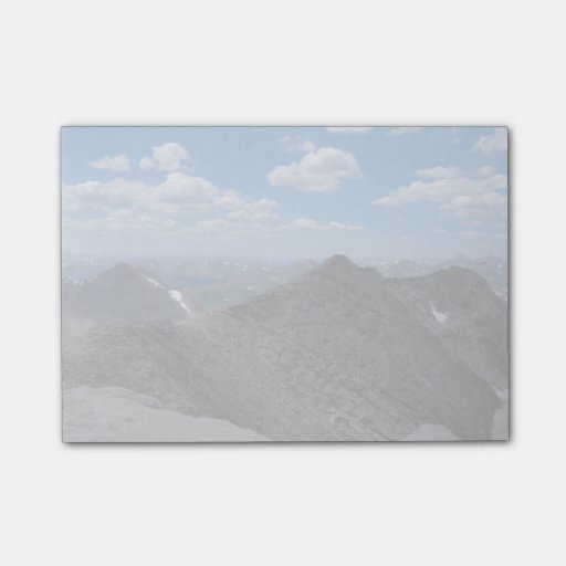 Colorado Rocky Mountains Moonscape Post-it® Notes