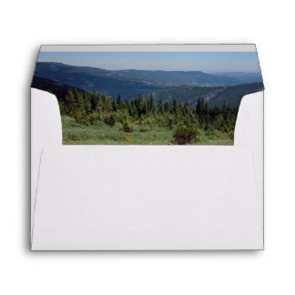 Colorado Rocky Mountains Panorama Envelope