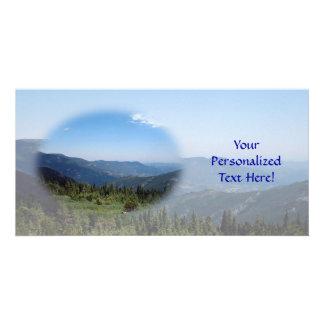 Colorado Rocky Mountains Panorama Personalized Photo Card