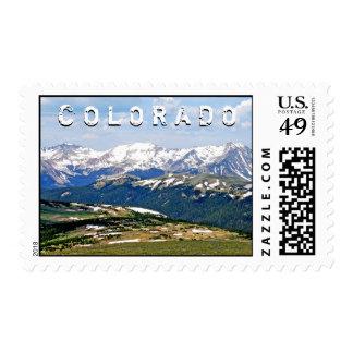 Colorado Rocky Mountains Stamp