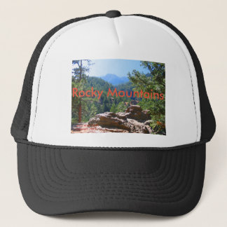 Colorado Rocky Mountains with red rocks Trucker Hat