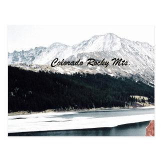 Colorado Rocky Mts. Postcard