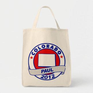 Colorado Ron Paul Canvas Bags