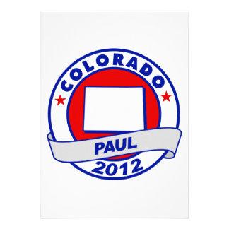 Colorado Ron Paul Custom Invitations