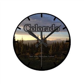 Colorado Round Clock
