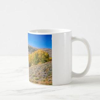 Colorado Rustic Rural Barn with Autumn Colors Coffee Mug