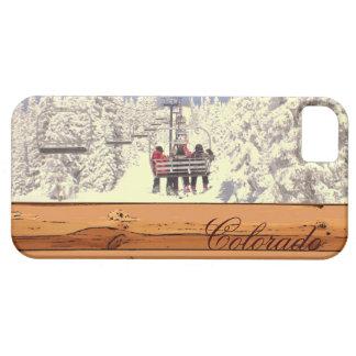 Colorado rustic snow scene iphone 5 case