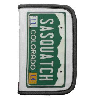 Colorado Sasquatch License Plate Organizers
