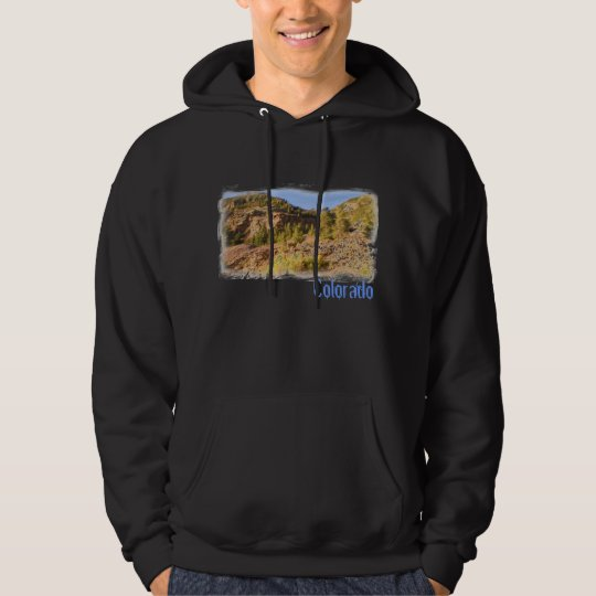 Colorado scenery guys hoodie