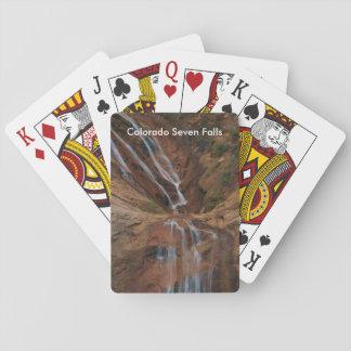 Colorado Seven Falls Playing Cards