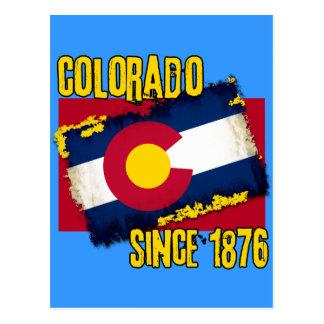 Colorado Since 1876 Postcard