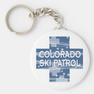Colorado Ski Patrol Key Chain