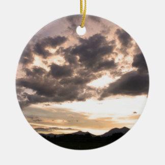 Colorado Skies Christmas Tree Ornament
