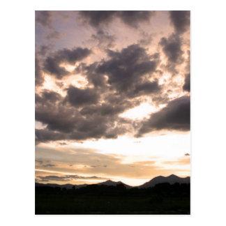 Colorado Skies Postcard