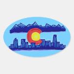 Colorado skyline stickers