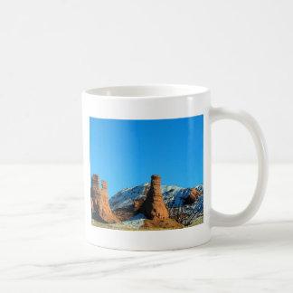 Colorado Snow On Rocks Classic White Coffee Mug