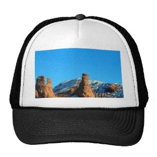 Colorado Snow On Rocks Trucker Hat