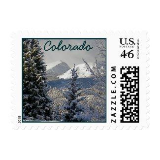 Colorado Snow Scene stamp