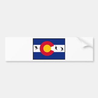 colorado snowboard bumper sticker