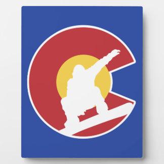Colorado Snowboard Plaque