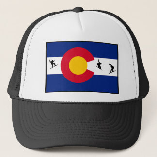 colorado snowboard trucker hat