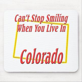 Colorado - sonriendo tapetes de raton
