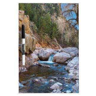 Colorado South St Vrain Canyon Dry-Erase Whiteboard