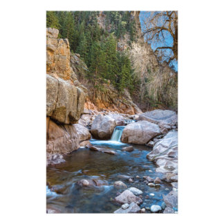 Colorado South St Vrain Canyon Stationery