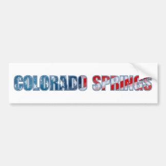 Colorado Springs Bumper Sticker