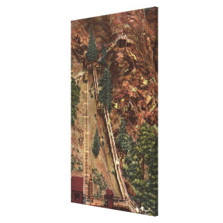 Colorado Springs, CO Stretched Canvas Prints