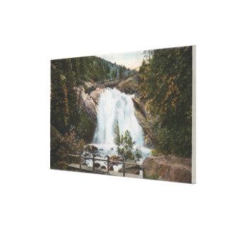Colorado Springs, CO - Helen Hunt Falls Canvas Print