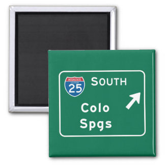 Colorado Springs, CO Magnet