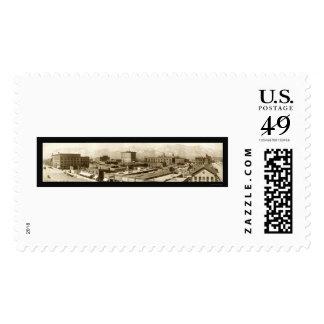 Colorado Springs, CO Photo 1913 Stamp