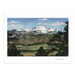 Colorado Springs, CO - Pikes Peak Post Card