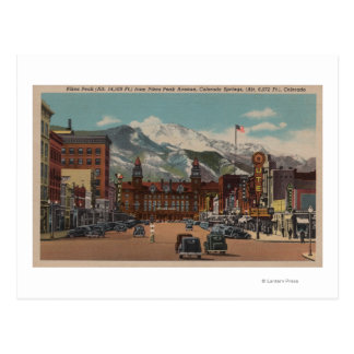 Colorado Springs, CO Postcard