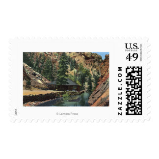 Colorado Springs, CO - Trout Postage Stamp