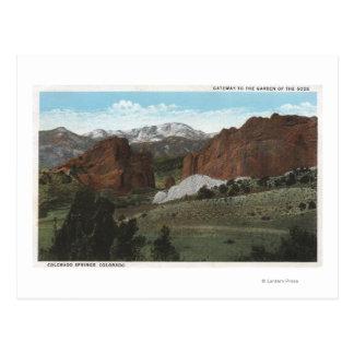 Colorado Springs, Colorado 3 Postales