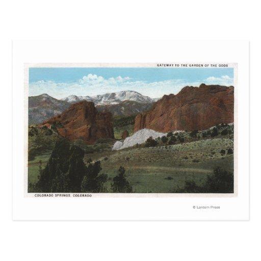 Colorado Springs, Colorado 3 Postcard