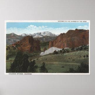 Colorado Springs, Colorado 3 Poster