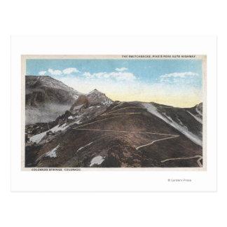 Colorado Springs, Colorado 4 Post Card